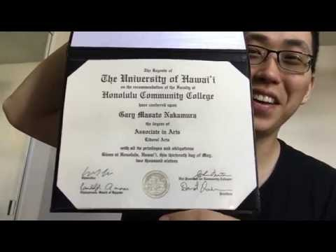 Opening My Associates In Arts College Degree! (Liberal Arts)