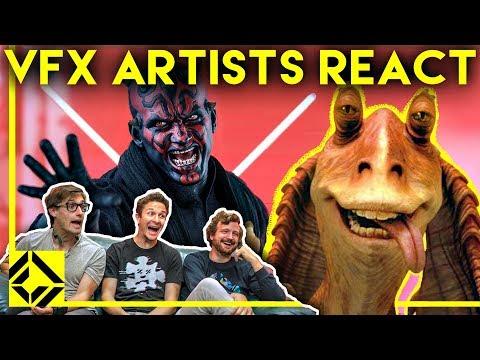 Xxx Mp4 VFX Artists React To THE PREQUELS Bad Great CGi 3gp Sex