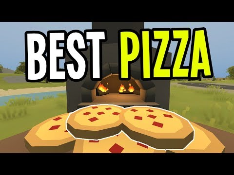 Unturned - BEST BRICK-OVEN PIZZA in GREECE!! - Greece Map Modded Survival - Ep. 17