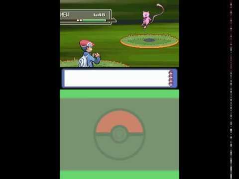Pokemon Platinum: #!How to catch mew(no cheats)