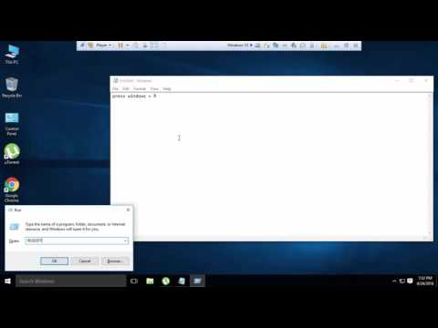 How to open registry editor (regedit) windows 8 & 10