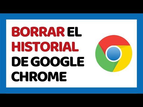 Cómo Borrar el Historial de Google Chrome 2018 | Cómo Usar Google Chrome 2018