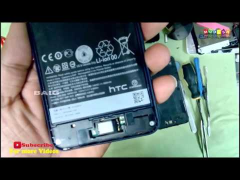 HTC Desire 816 Disassembly  and Battery Replacement-escbaig