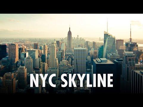 1HOUR of NYC Skyline Sunset