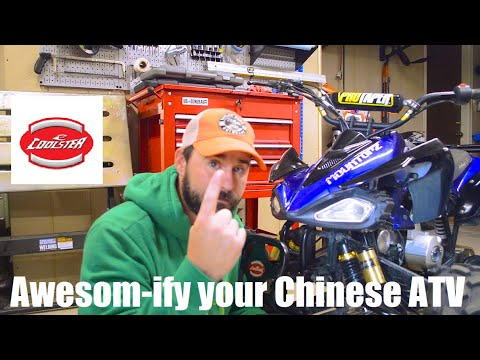 Chinese ATV 101 - Making a Coolster 125 better -- Chinese ATV upgrades