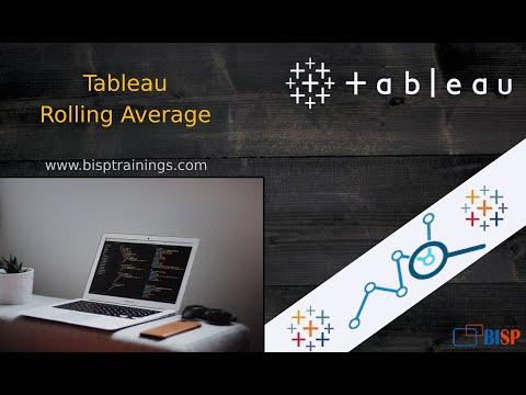 Tableau Rolling Average   Tableau Calculation