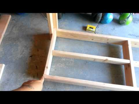 How to Build A Fire Wood Rack Part 1