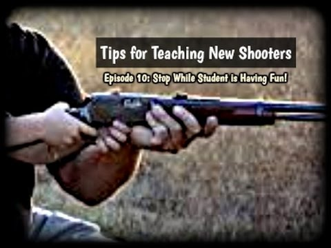Tips for Teaching New Shooters (Ep. 10):  Demonstrate Whenever Possible