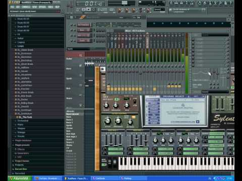 FL Studio How To *French House* - Voyager Bass