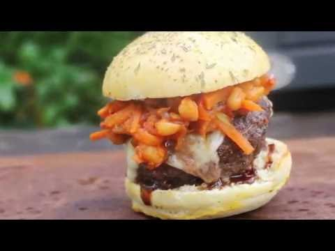 Chakalaka Burger from the Braai - english Grill- and BBQ-Recipe - 0815BBQ