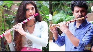 Rimjhim Rumjhum-Flute Duet-Palak & Sachin Jain- Daughter and Dad -The Golden Notes- Ft. Riyaz Ap