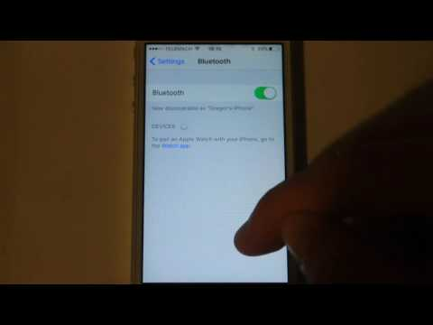 How to search bluetooth devices on Apple iPhone | EasyTips