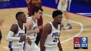 NBA 2K19 Great Comeback... Game-Tying and Game-Winning Shots!