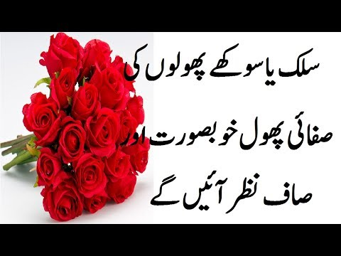 How to Clean and Fresh Flower at Home tricks in Urdu