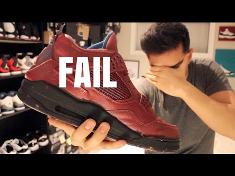 JORDAN CUSTOM GONE WRONG!!!  -_-