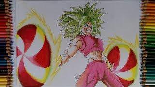 Drawing Kefla Dragon Ball Super Art Arteza Brush Pen Review