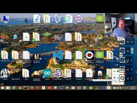 How to use Windows 8 with just the Keyboard Hotkeys - No mouse!