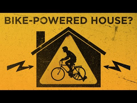 Can You Power A House With A Bicycle?