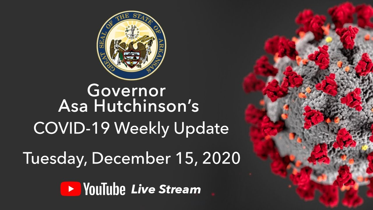 LIVE: Governor Hutchinson Provides Weekly COVID-19 Update (12.15.20)