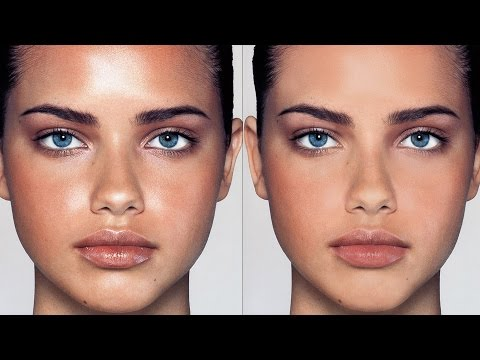 How To Remove Oil From Face in Photoshop - #PhotoshopTutorials 2016