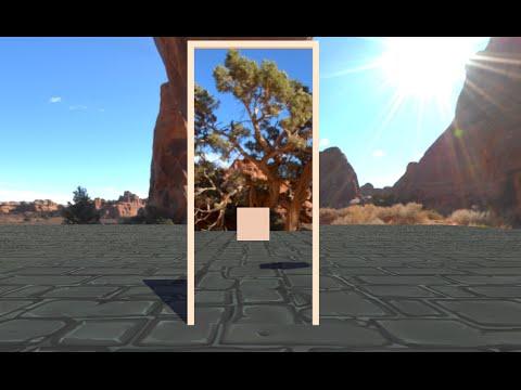 Unity portals using render textures demo