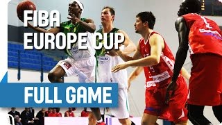 AEK (CYP) v Varese (ITA) - Full Game - Group V - FIBA Europe Cup
