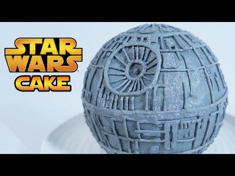 STAR WARS DEATH STAR CAKE - NERDY NUMMIES