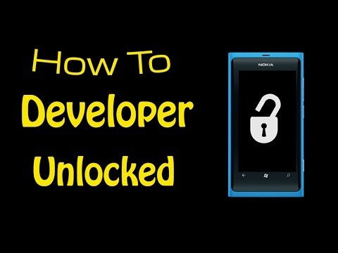 How To Developer Unlock Windows Phone