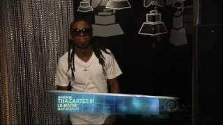 Download 2009 GRAMMY Awards - Lil Wayne Wins Best Rap Album Video