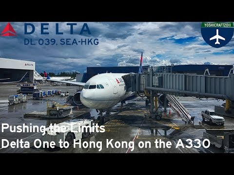 Pushing the Limits - Delta One to Hong Kong on the A330 (DL 039, SEA-HKG)