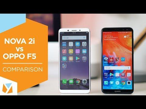 Huawei NOVA 2i vs. OPPO F5 Comparison Review