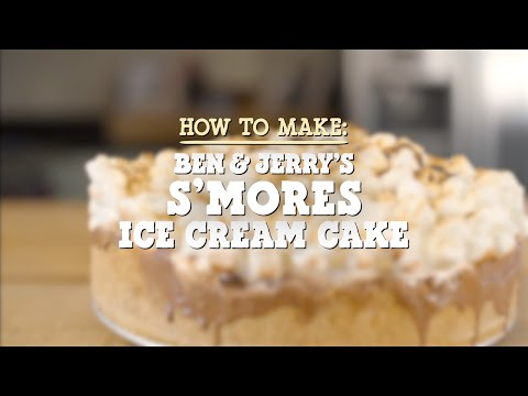 S'mores Ice Cream Cake | Ben & Jerry's