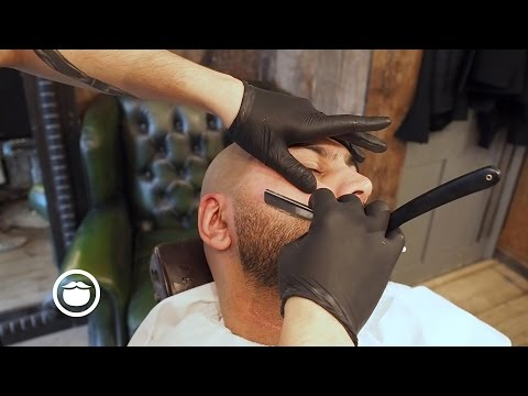Sharp Cheek Lines With a Natural Faded Goatee | Cut and Grind