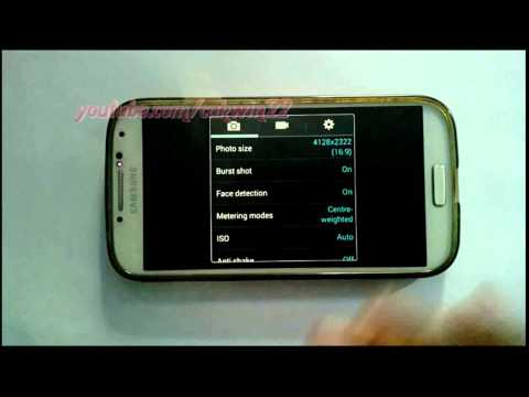 Android Phone : How to Set Flash Camera as Auto in Samsung Galaxy S4