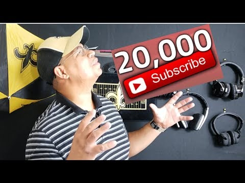 20,000 Subscribers on YouTube 2018 |  Join The Fun As I Go Back To My First Video