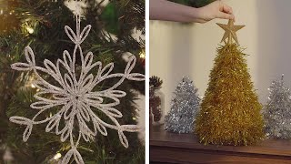 10 Affordable Ways to Decorate Your Home for the Holidays! ASMR Holiday Décor! Blossom