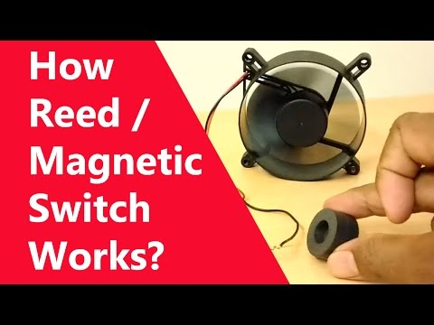 What is a Reed / Magnetic Switch? How Magnetic Switch Works? CPU Fan connected for testing...
