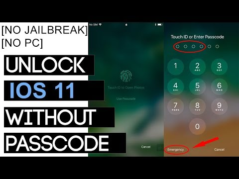 IOS 11 - Unlock any iPhone without Passcode. [100% Working] For all IOS 11 versions.
