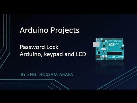 Password Lock- Arduino, LCD and Keypad