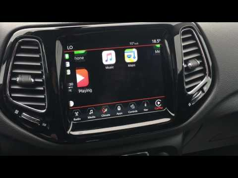 Apple CarPlay found in the 2017 Jeep Compass!