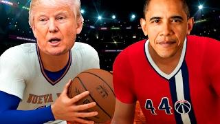 Barack Obama VS Donald Trump | NBA 2K17 Challenge