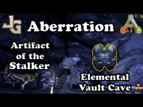 ARK - Artifact of the Stalker - Aberration - Elemental Vault Cave - Guide