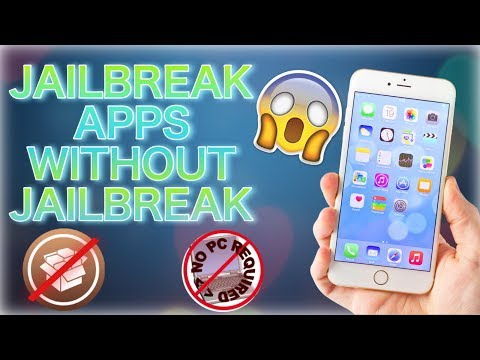 INSTALL JAILBREAK APPS WITHOUT JAILBREAK AND COMPUTER ON IOS 10/11