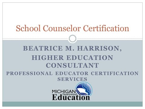 02 Michigan School Counselor Certification