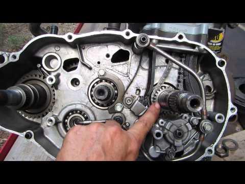 54% gear reduction install in 300 Honda video Dons camera 014