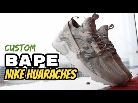 Custom Nike Bape Huaraches