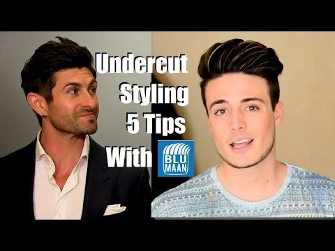 Undercut Hairstyle Tutorial  | 5 Styling Tips For Medium Length Hair
