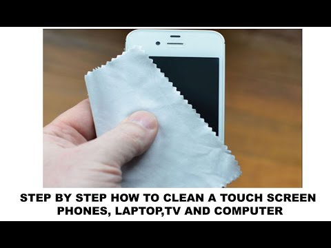How to Clean a Touch Screen | Mobile , Laptop , Computer