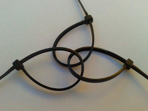 Life Hack #4: How to Unlock & Reuse Zip ties(Cable ties): 2 easy methods