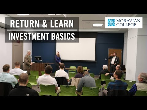 Return and Learn: Investing Basics | Moravian College
